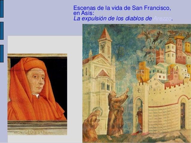 Escenas de la vida de San Francisco,en Asís:La expulsión de los diablos de Arezzo.
