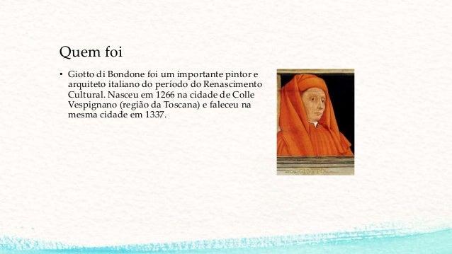 Giotto di bondone - Trabalho de Artes COMPLETO Slide 2