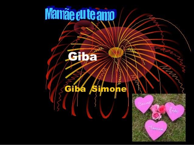 Giba Giba Simone