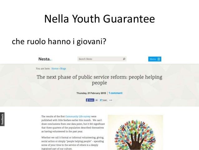 Giovani e lavoro. Quale garanzia?