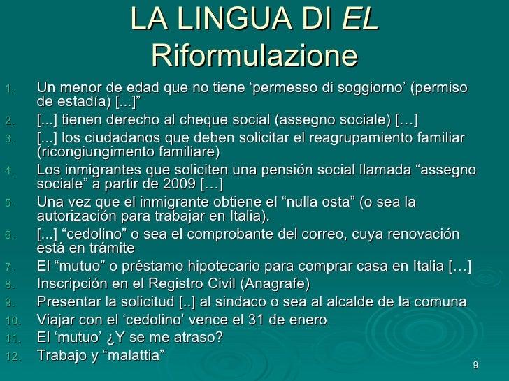 Giovanna mapelli marzo 09 for Permiso de soggiorno en italia