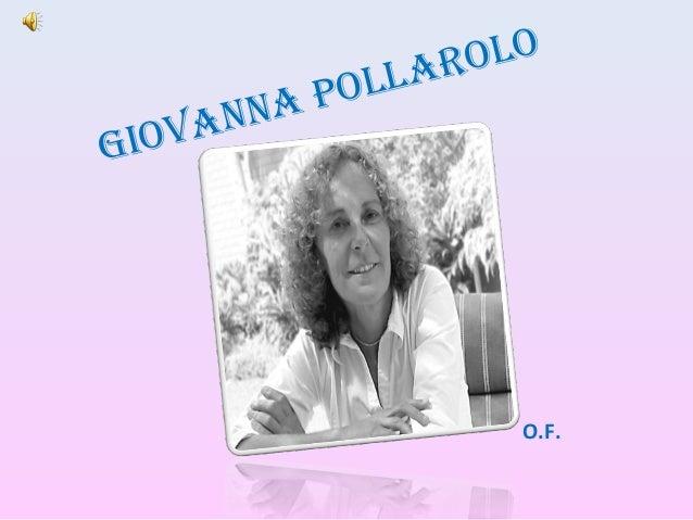 Giovanna Pollarolo O.F.
