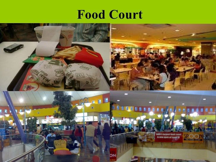 Great India Place Noida Food Court