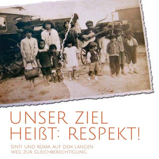 unser ziel heißt: respekt!sinti und roma auf dem langen weg zur gleichberechtigung.