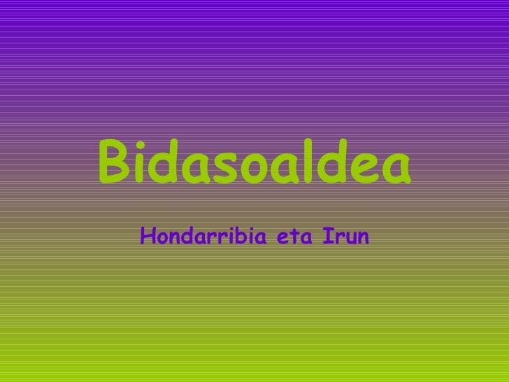 Bidasoaldea Hondarribia eta Irun