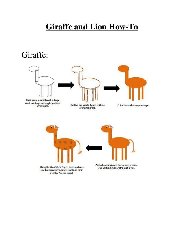 Giraffe and Lion How-ToGiraffe: