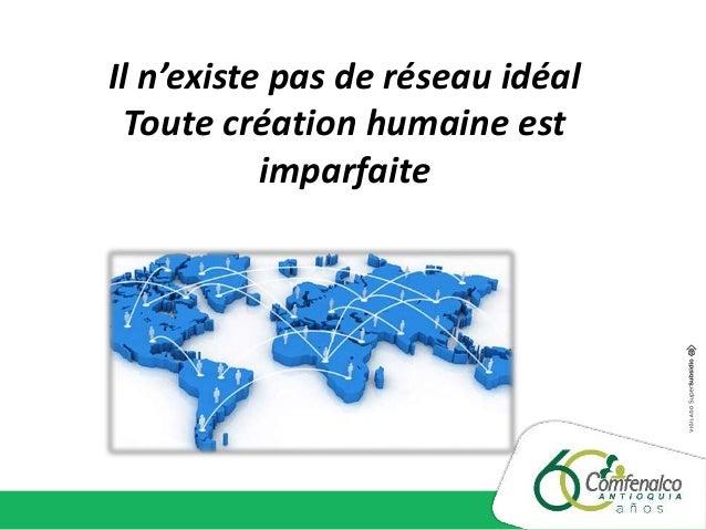 Il n'existe pas de réseau idéal Toute création humaine est imparfaite