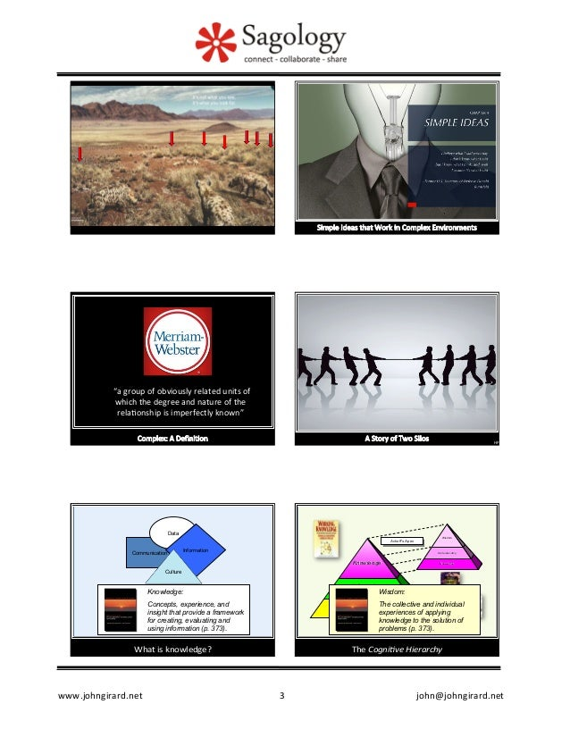 Social Knowledge: Are You Ready for the Future? Slide 3