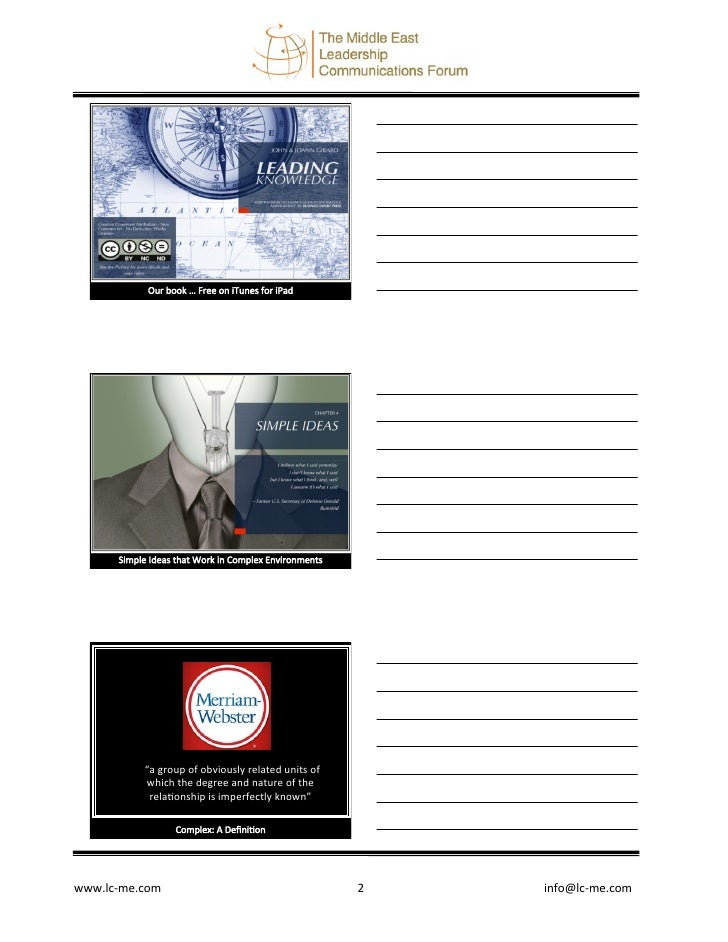 Simple Ideas: Girard Abu Dhabi 23 April Slide 2
