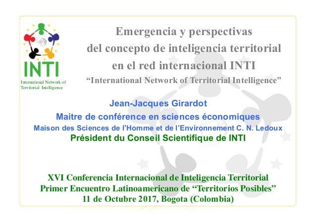 Jean-Jacques Girardot Maitre de conférence en sciences économiques Maison des Sciences de l'Homme et de l'Environnement C....