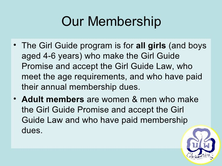 Girl Guide Law