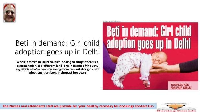 Girl child adoption goes up in delhi