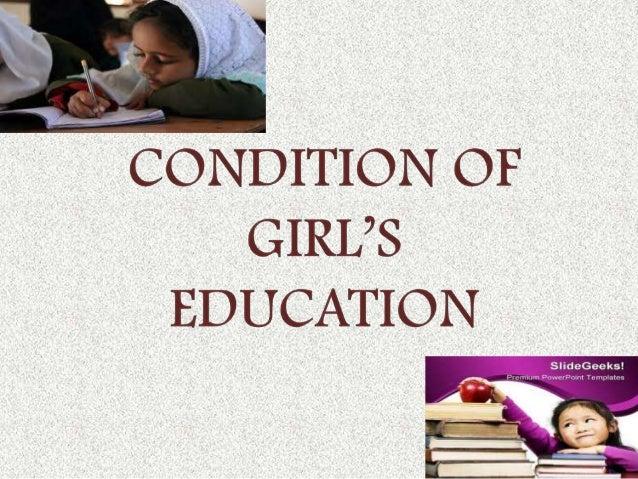 Girl Education  Slide 3