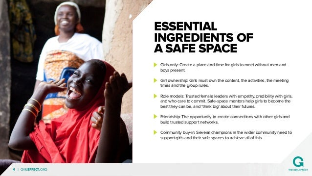 Creating Safe Space For Students After >> Girl Effect Creating Safe Spaces For Girls