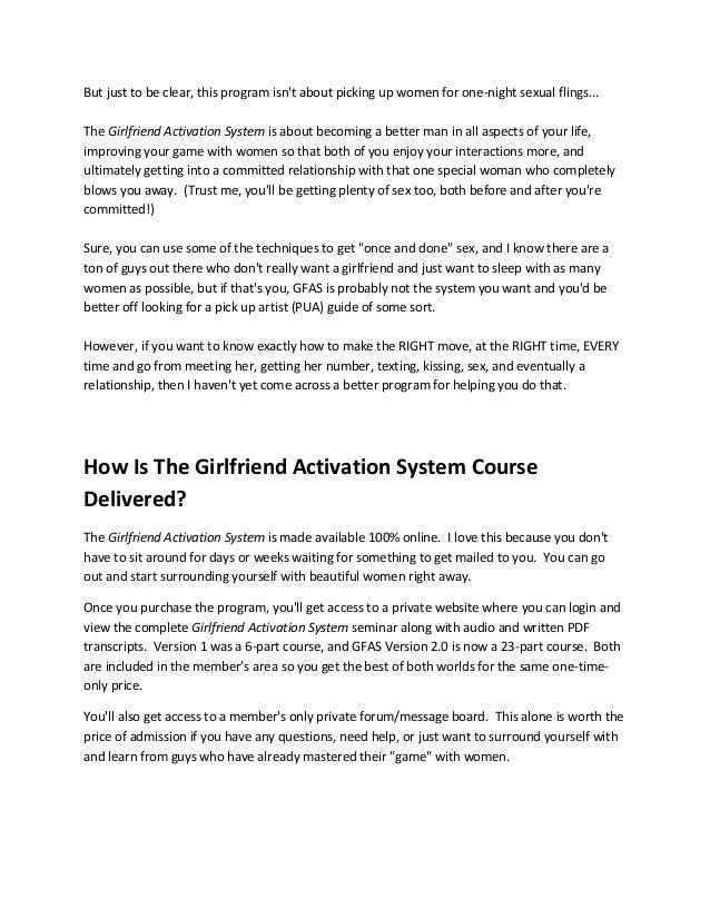 Girlfriend activation system torrent download