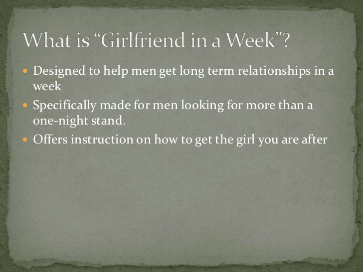 3 weeks dating advice