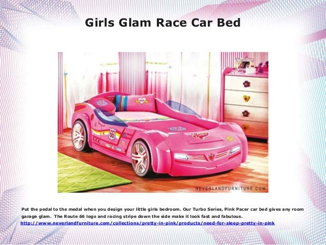 Girls Super Cool Car Bed Buy It At Neverland Furniture In