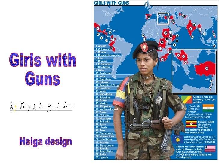 Girls with Guns Helga design