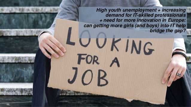 High youth unemployment + increasing demand for IT-skilled professionals + need for more innovation in Europe: can getting...
