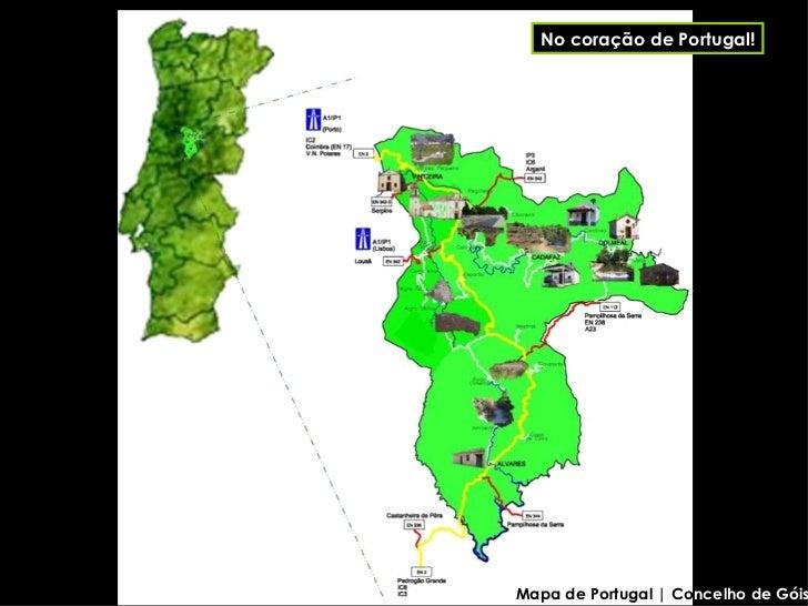 gois portugal mapa Góis gois portugal mapa