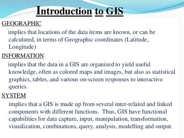 Gis powerpoint Slide 3