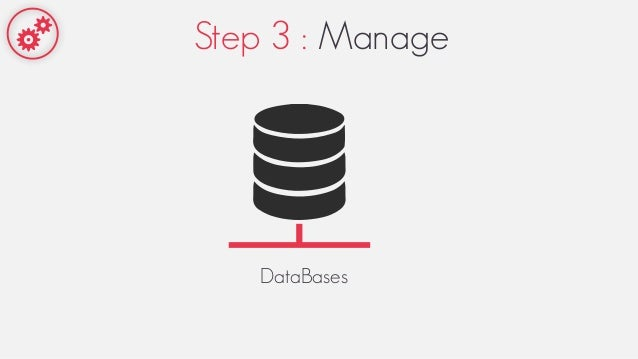 Step 3 : Manage DataBases