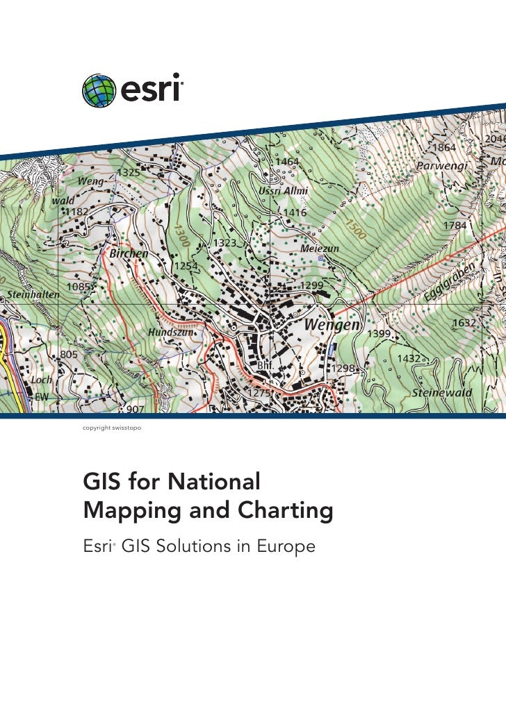 copyright swisstopoGIS for NationalMapping and ChartingEsri GIS Solutions in Europe         ®