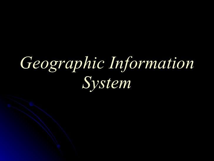 GIS Slide 3
