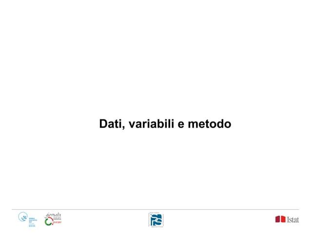Dati, variabili e metodo