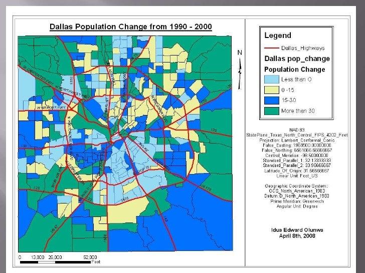 Population change in Texas<br />11<br />