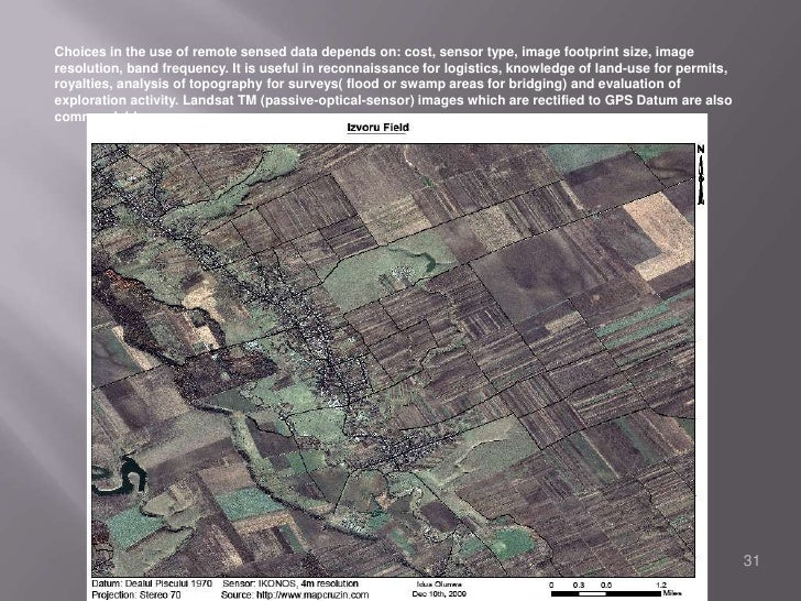 How GIS, GPS and Remote Sensing Technologies Apply.<br />GIS- it's ability to integrate and analyze the several kinds of d...