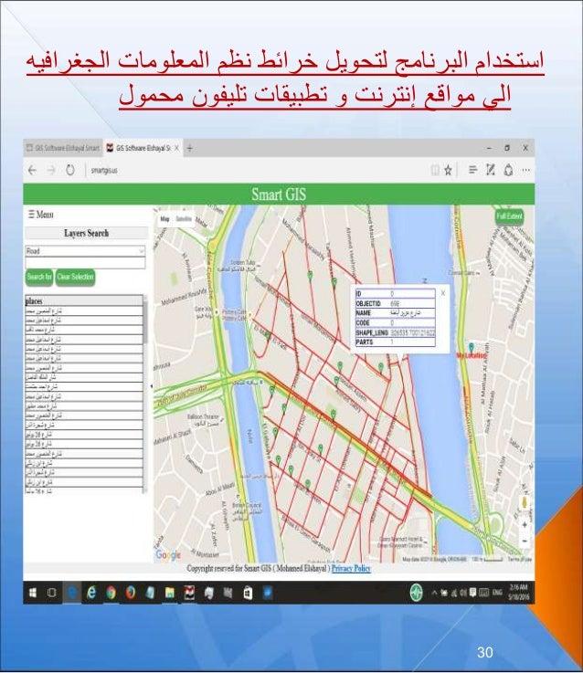 30 الجغ المعلومات نظم خرائط لتحويل البرنامج استخدامرافيه محمول تليفون تطبيقات و إنترنت مواقع ...