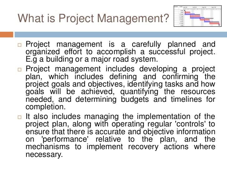 GIS Based Project Planning and Management Slide 2