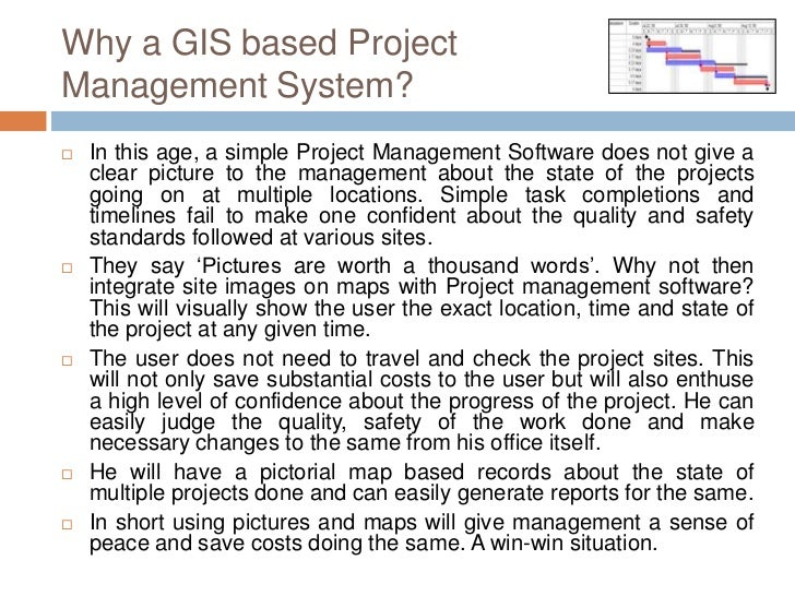 GIS Based Project Planning and Management Slide 3