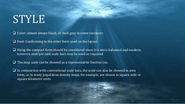 STYLE  Color: almost always black, or dark gray in some instances  Font: Conforming to the other fonts used on the layou...