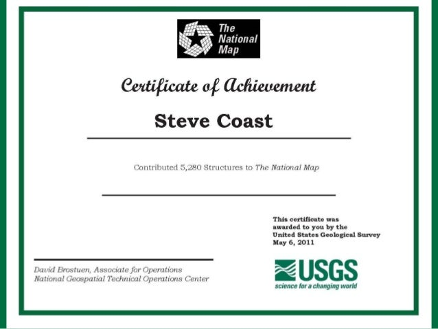 2012 GISCO Track, Volunteer Geographic Information at the USGS - The …