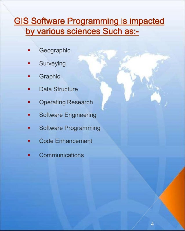  Geographic  Surveying  Graphic  Data Structure  Operating Research  Software Engineering  Software Programming  C...
