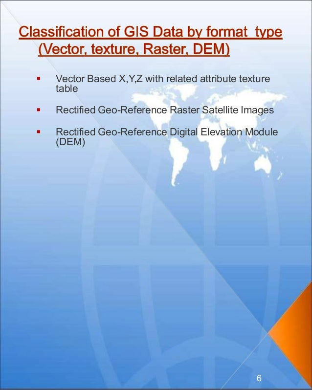  Vector Based X,Y,Z with related attribute texture table  Rectified Geo-Reference Raster Satellite Images  Rectified Ge...