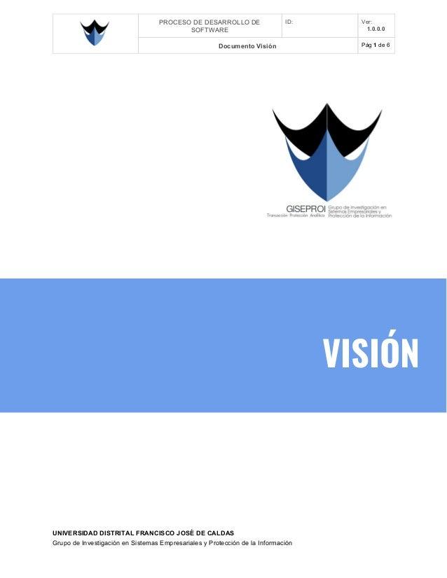 Giseproi plantilla vision