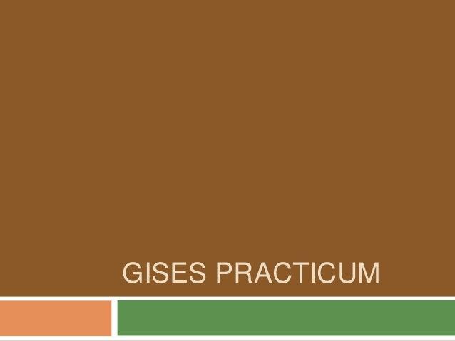 GISES PRACTICUM