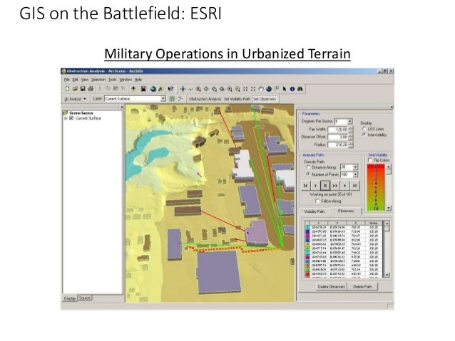 terrain analysis spatial analysis military defence thesis gis How are military gis some military applications related to terrain analysis in conjunction with gis and of a gis based tactical information system demands.