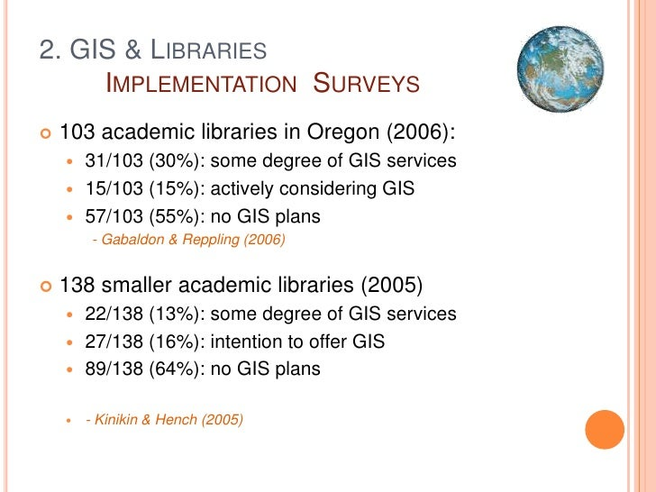 Go Geospatial! GIS For Libraries