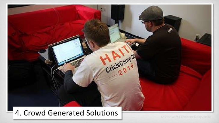 4. Crowd Generated Solutions<br />