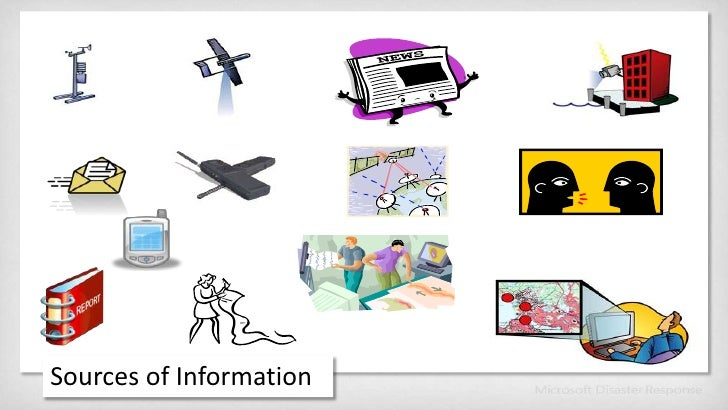 Sources of Information<br />