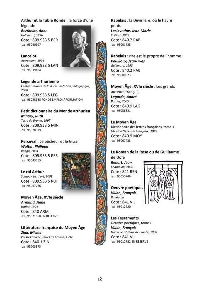 13 Poésies diverses Oeuvres poétiques, tome 2 Villon, François Nouvelle Librairie de France, 1980 Cote : 841 VIL ex : 9501...