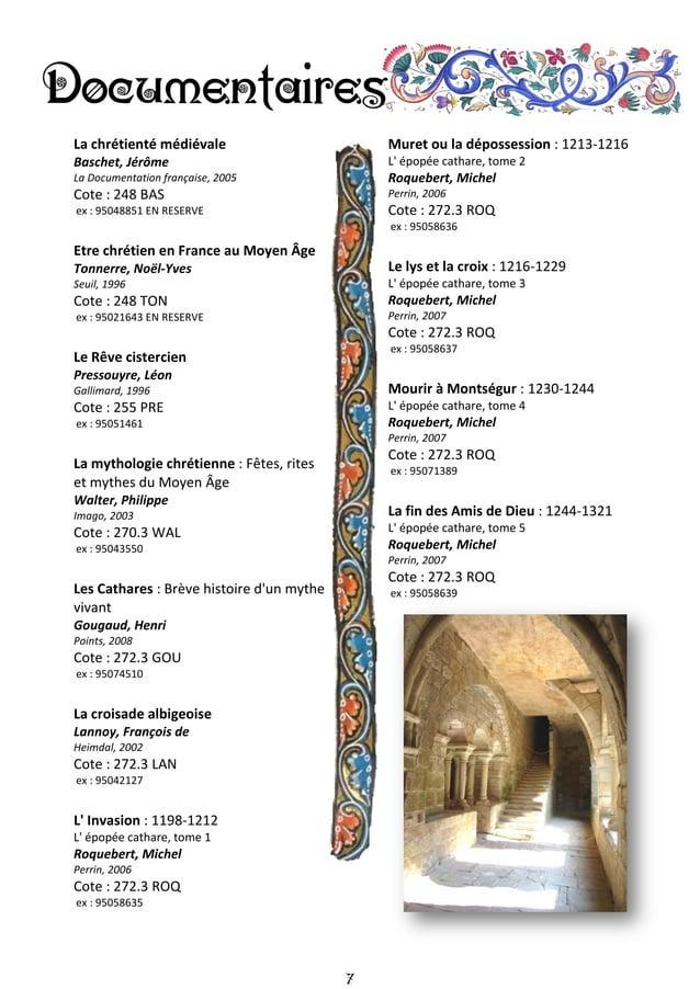 8 Histoire des femmes en Occident : le Moyen Âge Plon, 1991 Cote : 305.4 HIS ex : 95012413 Les Femmes en l'An Mille Verdon...