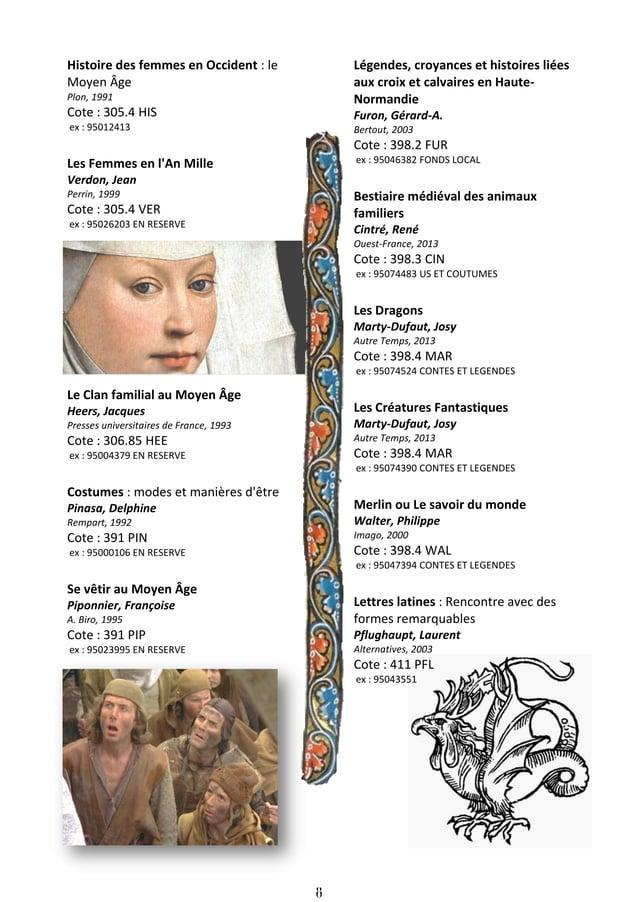 9 Jardins médiévaux Chamblas-Ploton, Mic La Maison rustique, 2000 Cote : 635.99 CHA ex : 95032769 Le Pain au Moyen Âge Des...