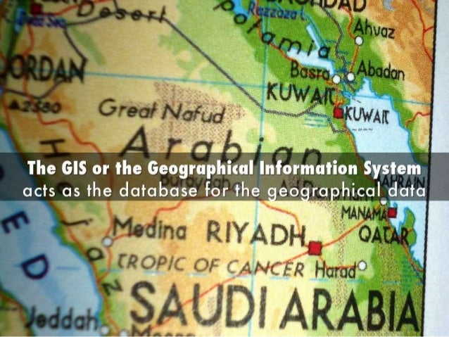 The Important Components of GIS Slide 2