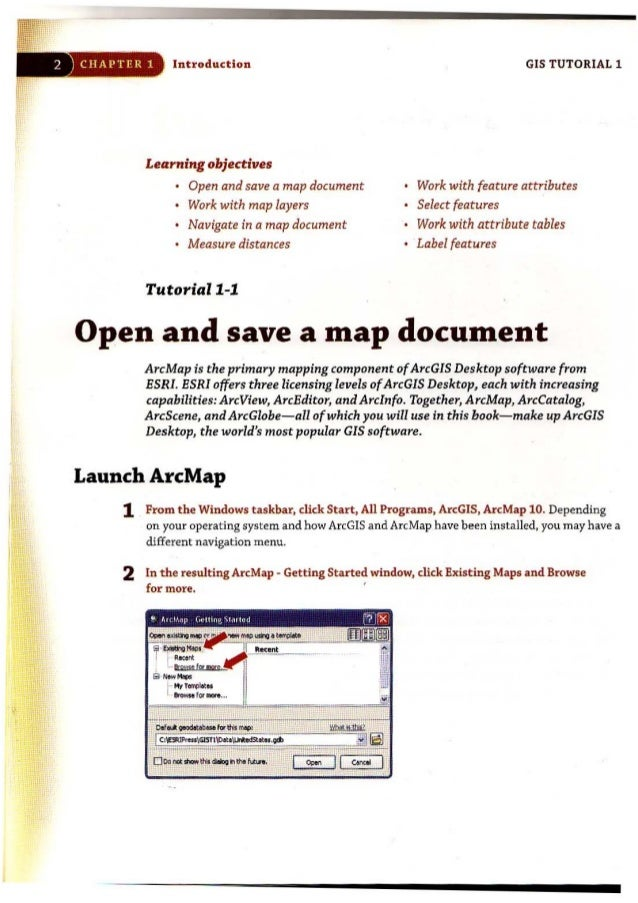 Gistutorial1basicworkbook 10 2 chapter 1 introductionlearning sciox Gallery