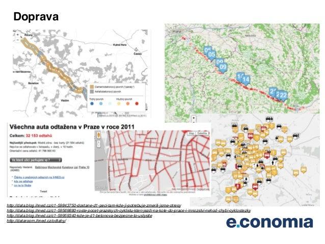 Mapy na IHNED.cz Slide 3